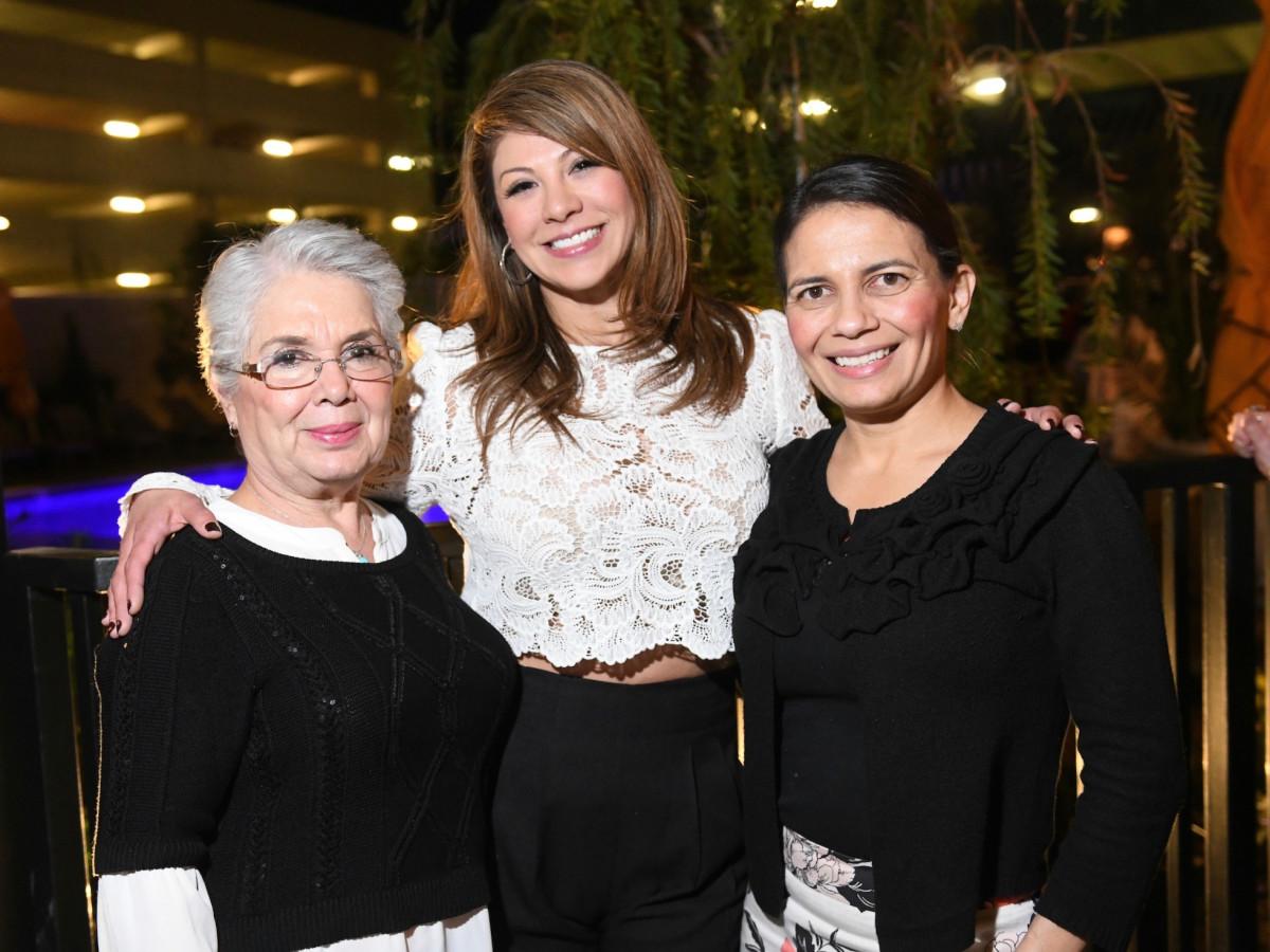 Judge Linda Yanez, Trina Adame , Amparo Guerra