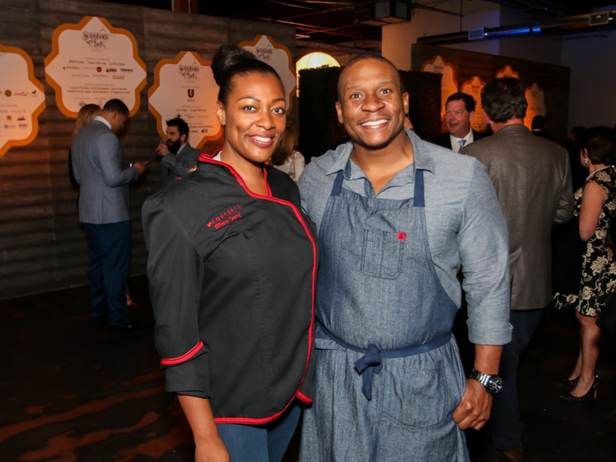 Tiffany Derry, Tre Wilcox, Symphony of Chefs 2018