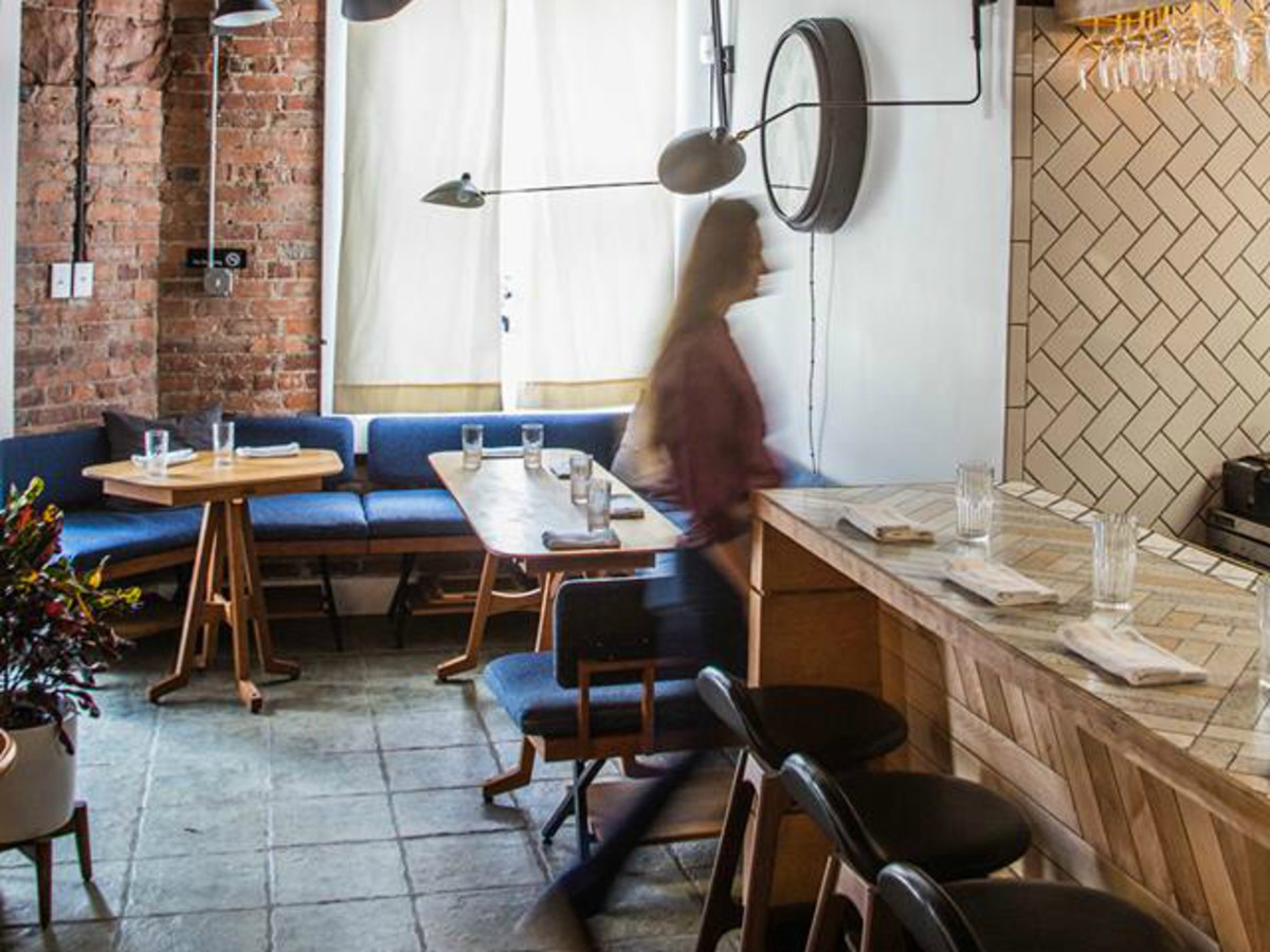 Theodore Rex restaurant interior
