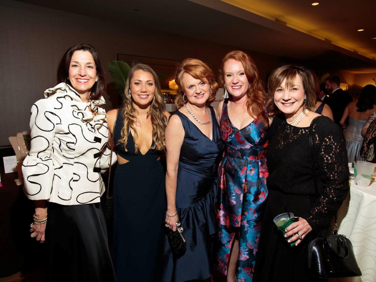 Clare Nelson, Hannah Ferrin, Mary McAuliffe, Minette Morgan, Lori Allen, Slipper Club Havana Nights 2018
