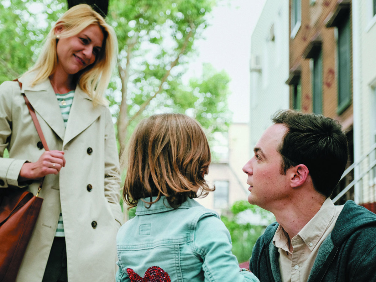 Claire Danes and Jim Parsons in A Kid Like Jake