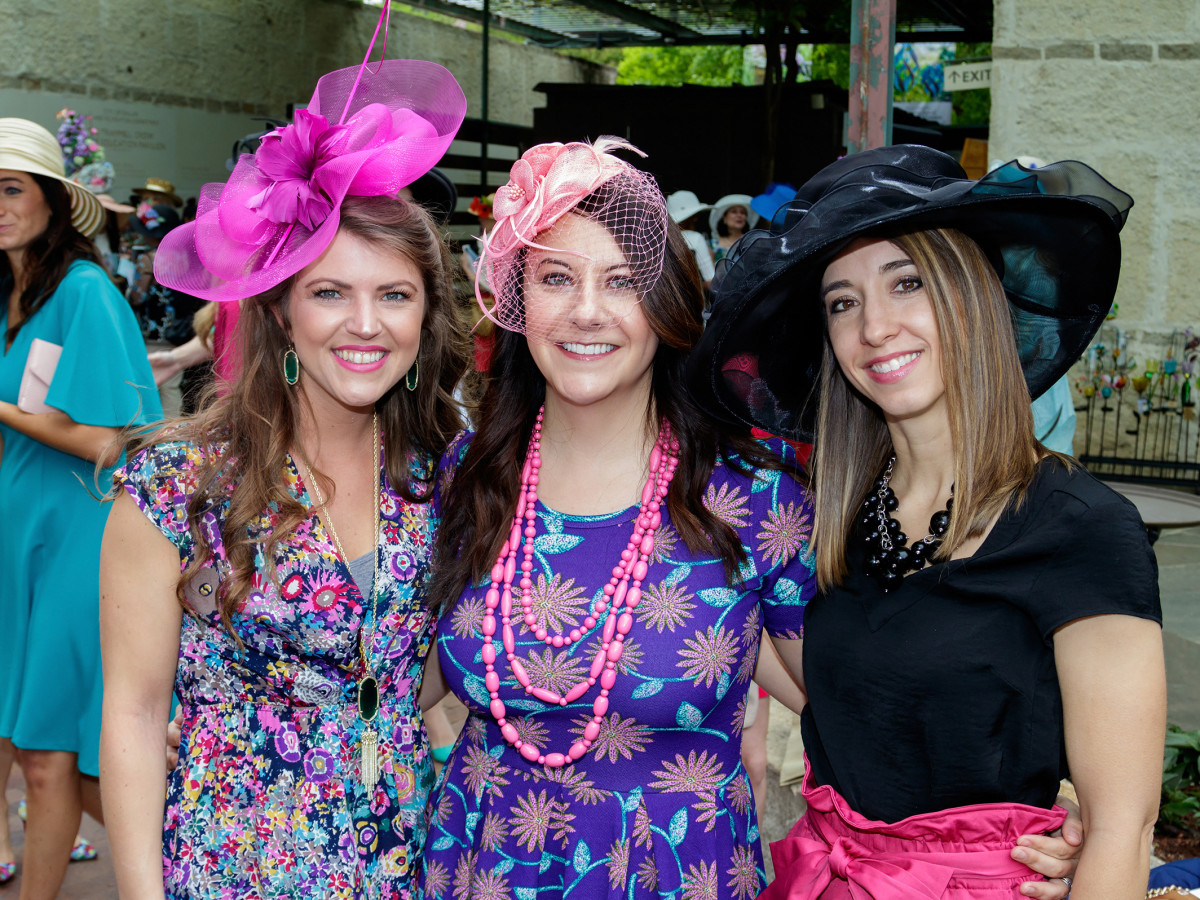 Mad Hatters 2018, Allison Rice, Andrea Wilkins, Anna Landers