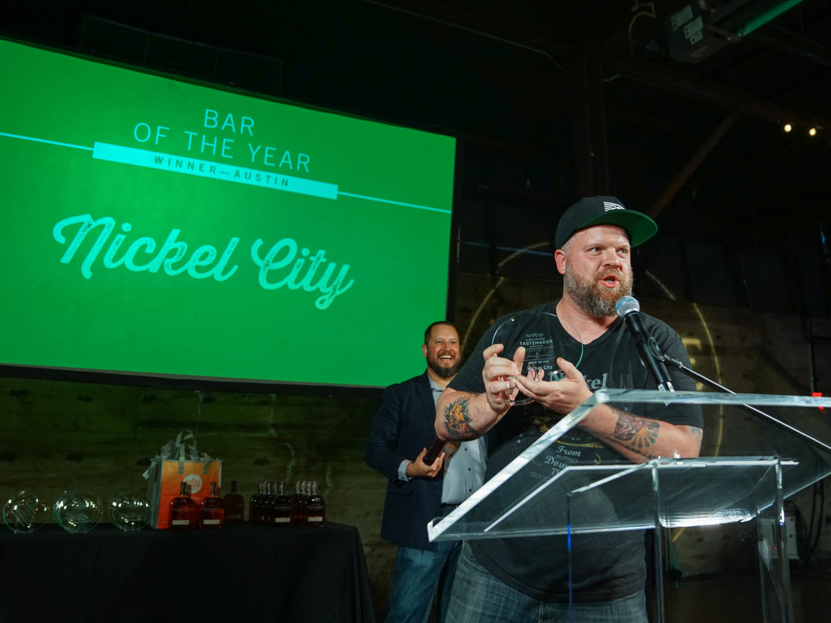 CultureMap Austin 2018 Tastemaker Awards at Fair Market Austin Bar of the Year Nickel City