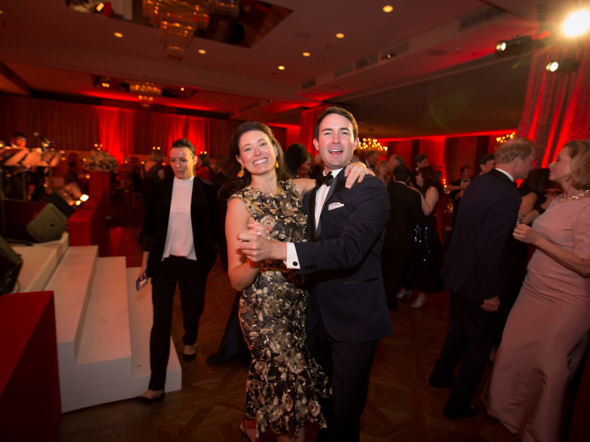 Cliburn gala 2018, Kate Thompson, Zach Crain