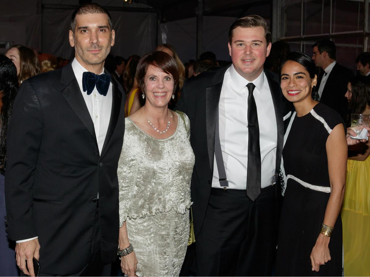 Alfonso Montiel, Lauren Embrey, Charles Glover, Celeste Glover