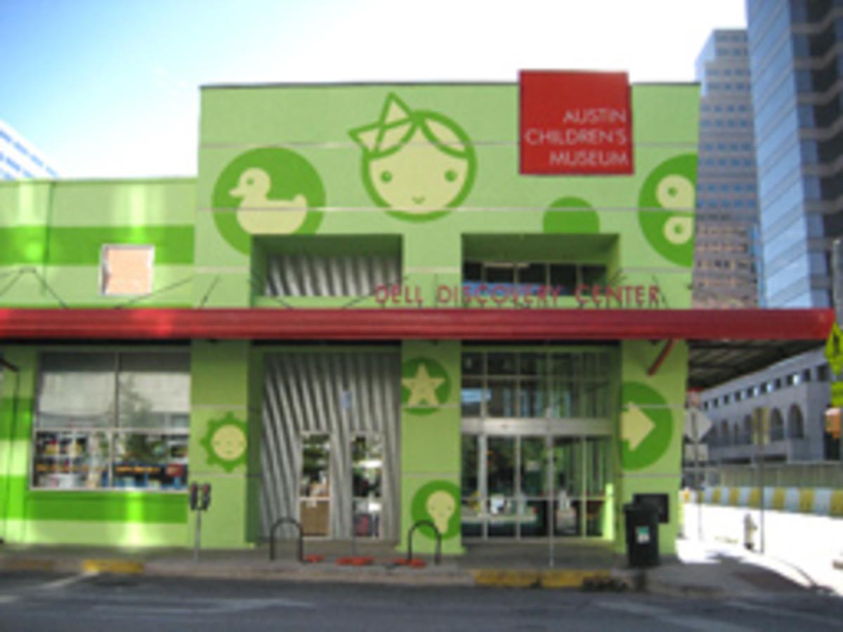 Austin Photo: Places_Arts_Austin_Children's_Museum_Exterior