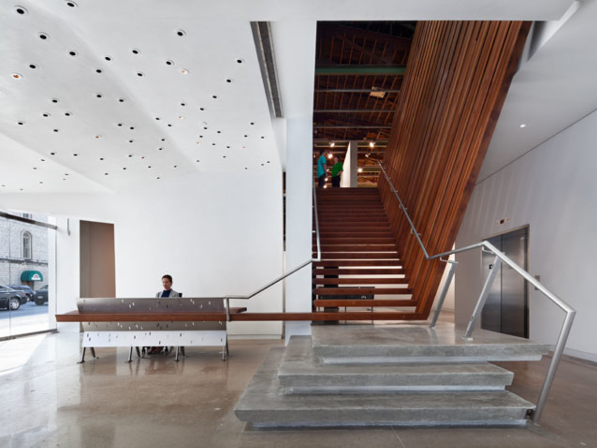 Austin photo: Places_Arts_Arthouse_Jones_Center_Stairwell