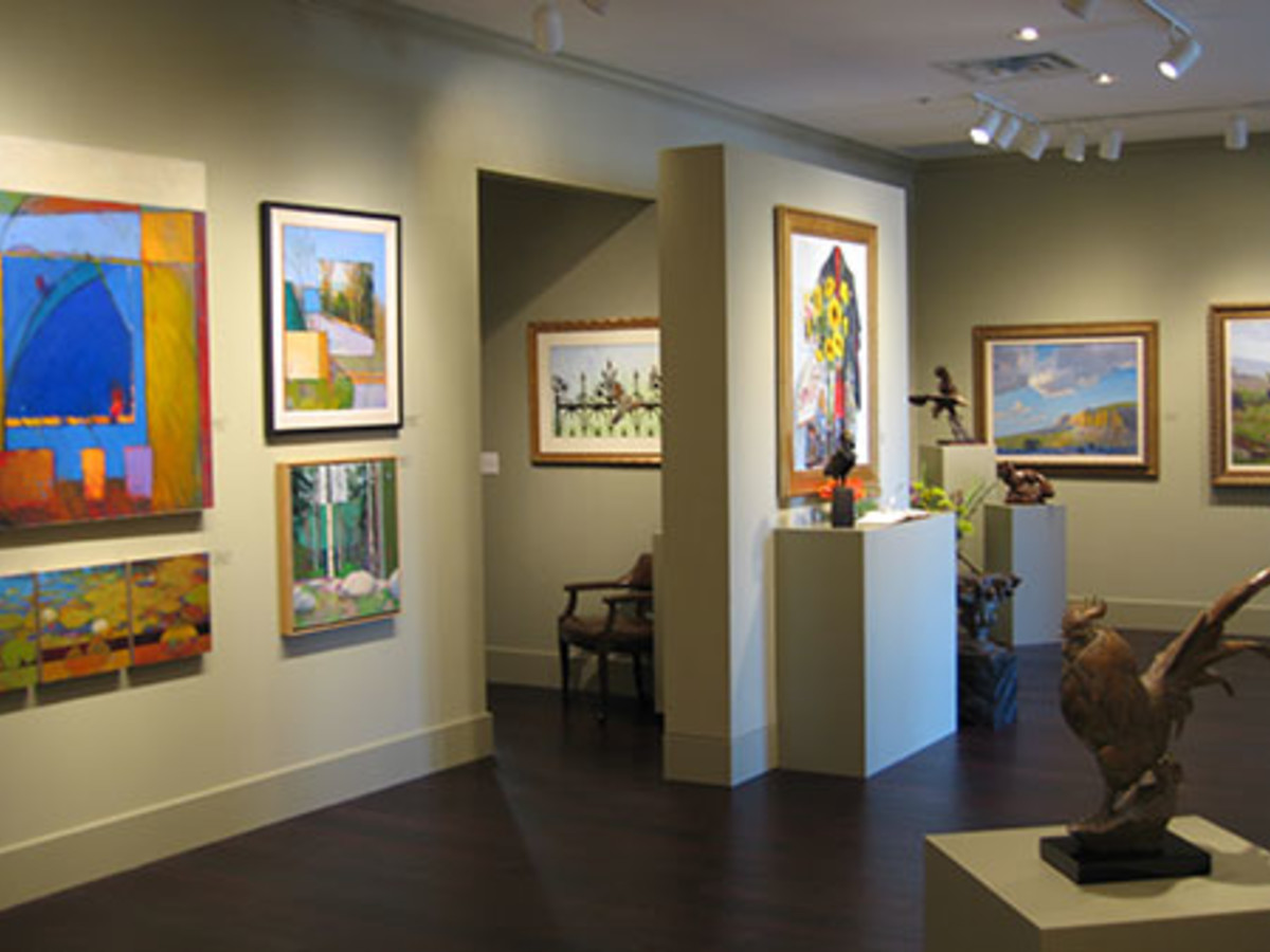 Austin photo: Places_Arts_Gallery_Shoal_Creek_Exhibit