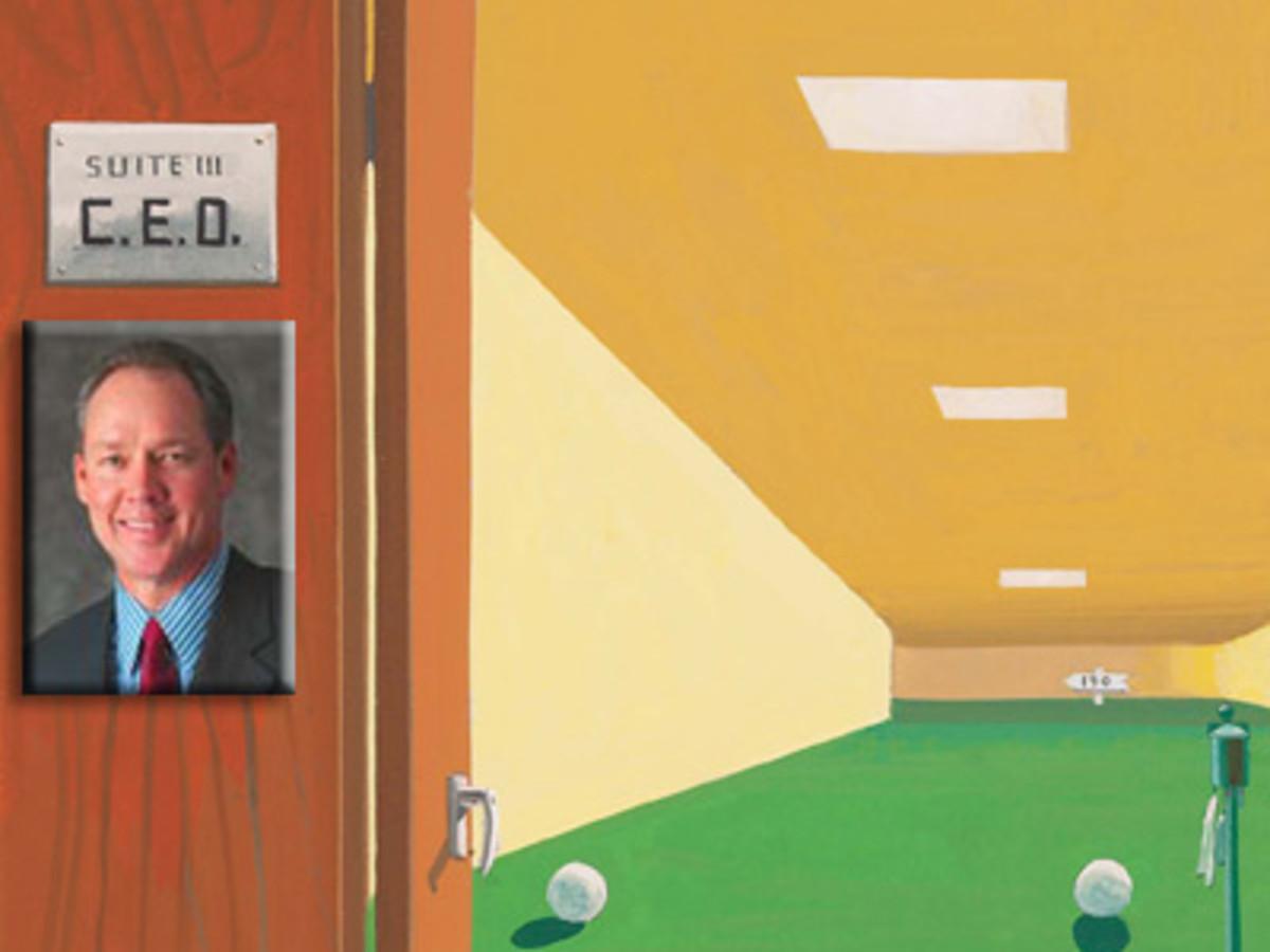 Jim Crane CEO golfer