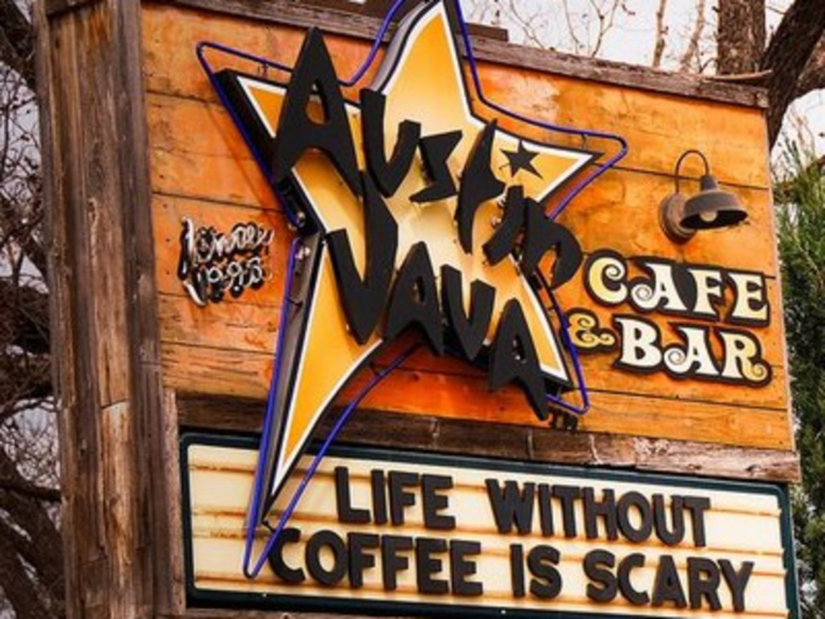 Austin photo: Food_Austin_Java_Lamar_Sign