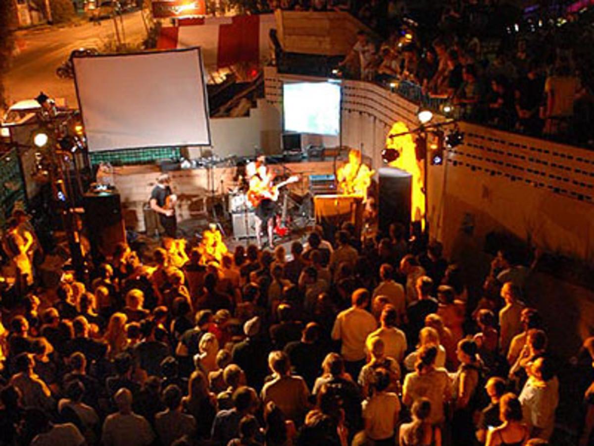 Austin Photo: Places_Live Music_Mohawk_Stage