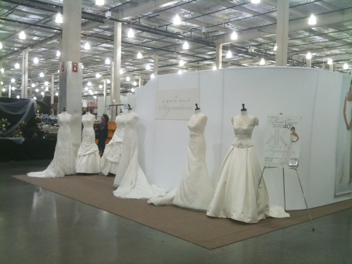 Discount Designer Wedding Dresses Hit Costco And The Crowd Is Intri