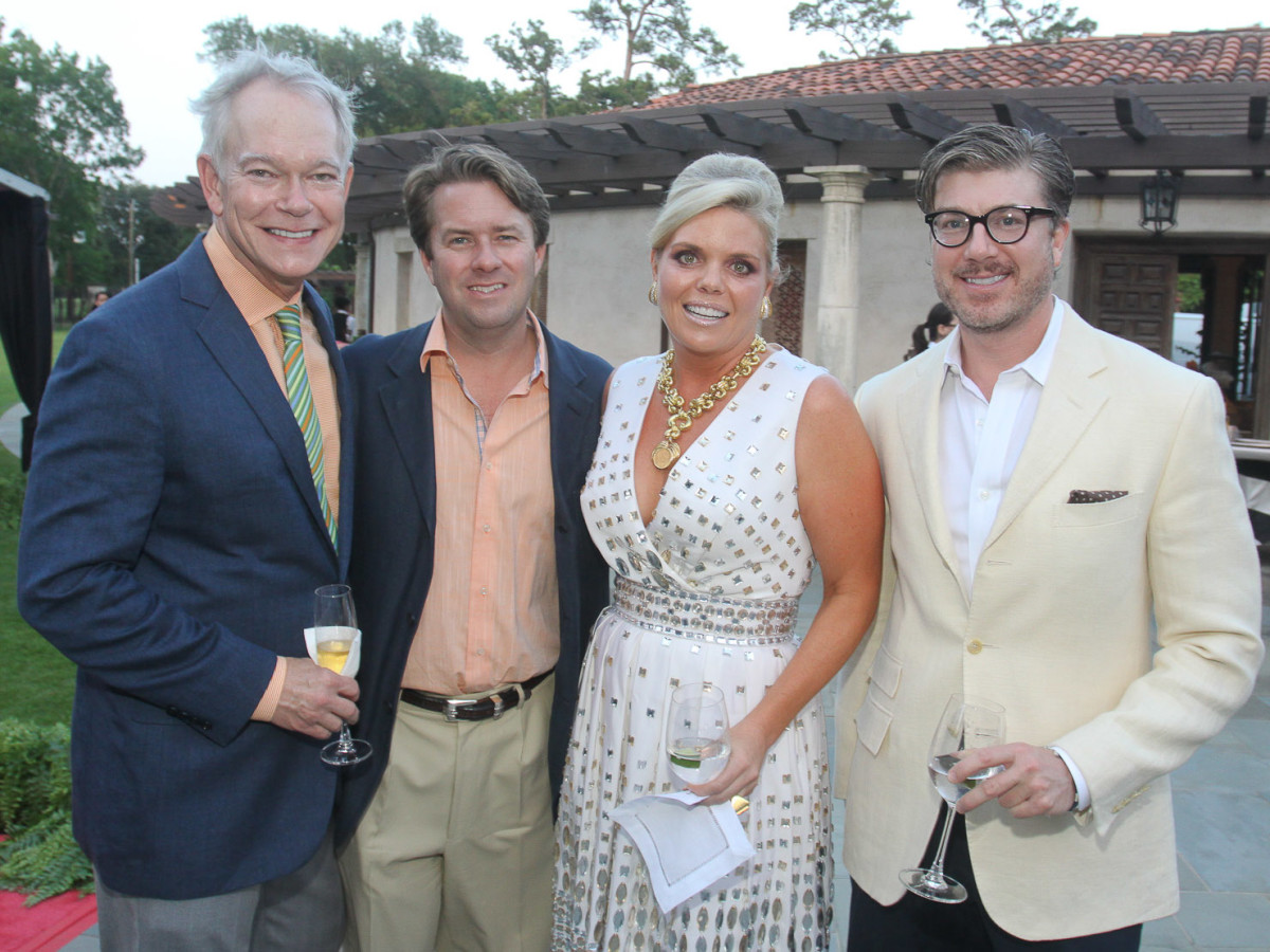 News_Becca Legion of Honor party_Jay Jones_Michael Mifhoff_Valerie Sarofim_Randy Powers