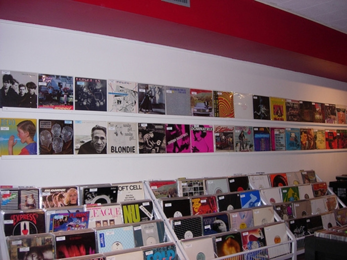 Austin Photo: Places_shopping_backspin_records_interior