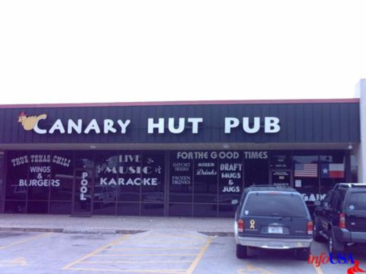 Austin photo: Places_Drink_Canary Hut_Exterior