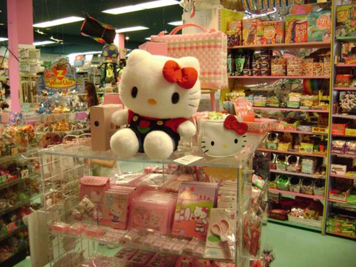 Austin Photo: Places_shopping_terra_toys_hello kitty