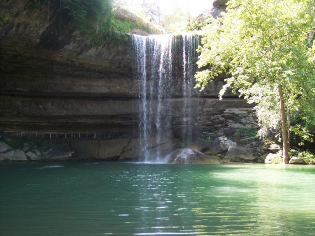 Austin_photo: places_outdoors_hamilton_pool_waterfall