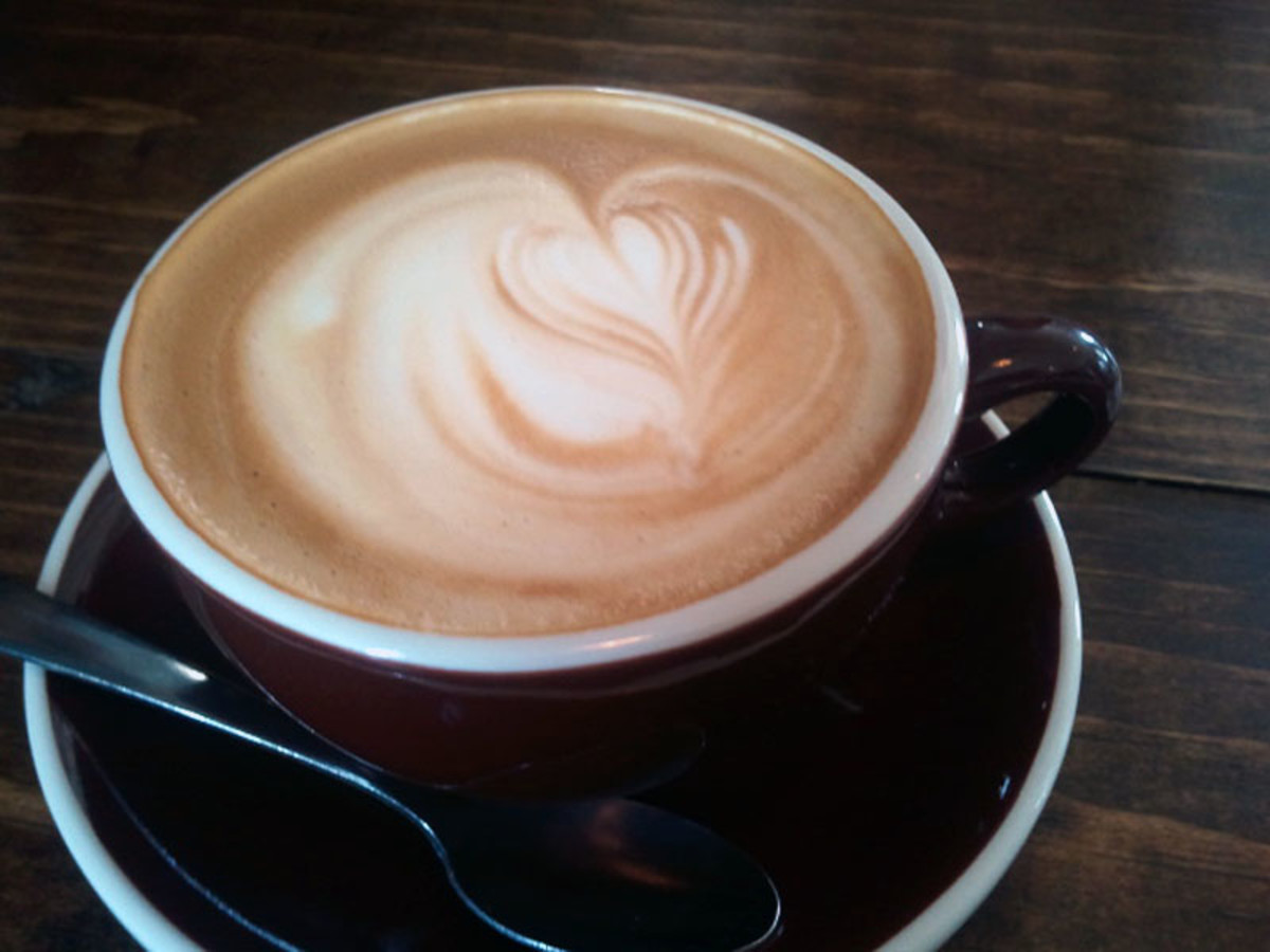 down house coffee cappucino