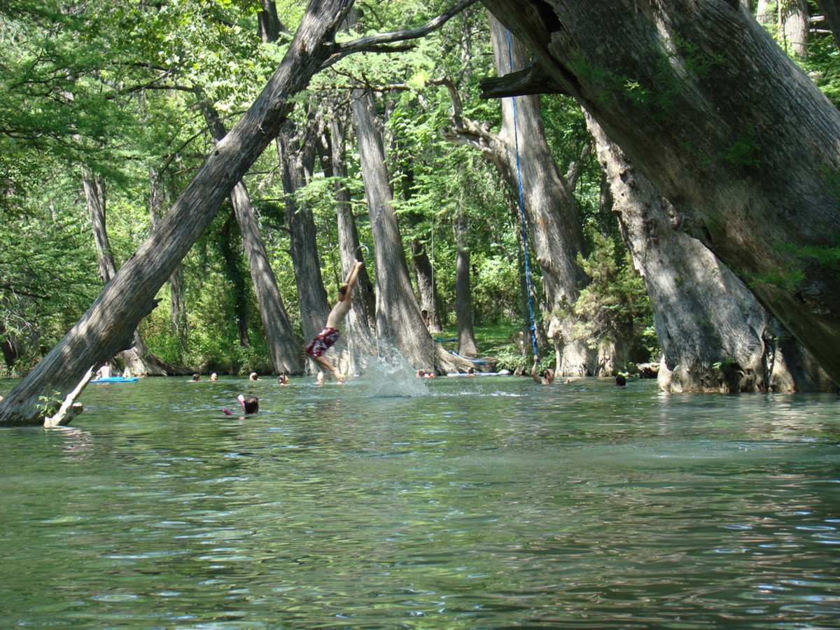 Austin Photo Set: News_Peter Lewis_Swimming Holes_blue hole_wimberley_june 2011_manue reynolds2