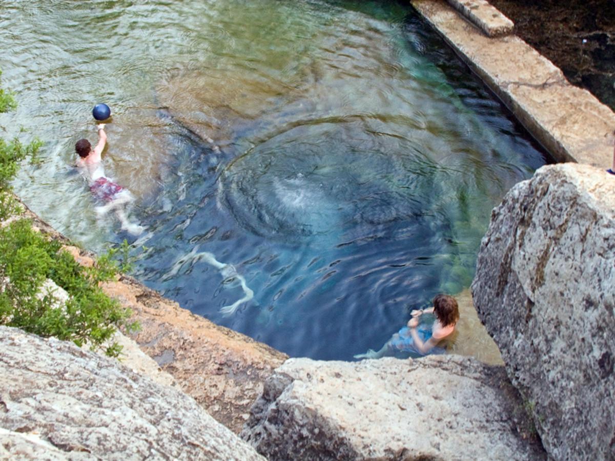 Austin Photo Set: News_Peter Lewis_Swimming Holes_jacob's well wimberley_june 2011_richard alexander