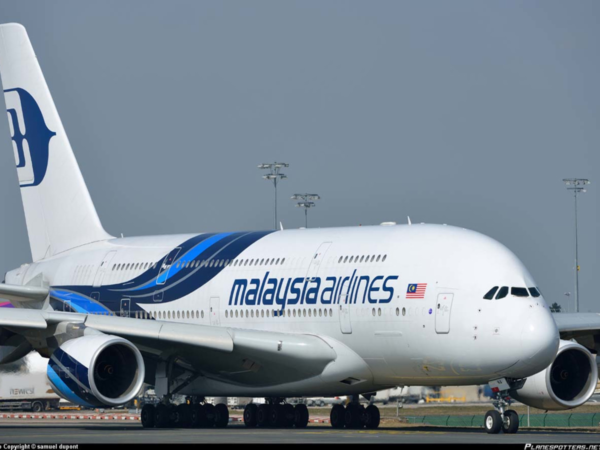 Malaysia Airlines airplane
