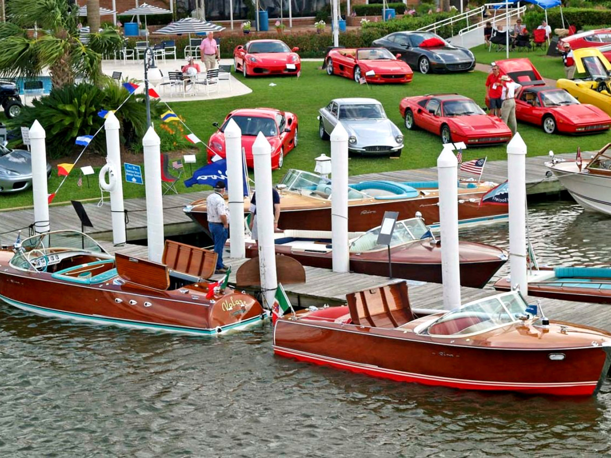 Keels & Wheels weekend events Houston boats cars