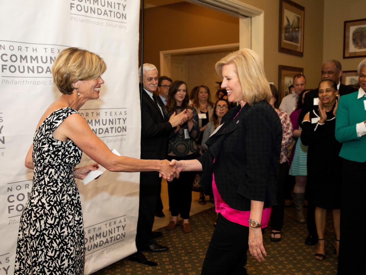North Texas Community Foundation, Rose BradshawAdelaide Leavens, Beth Zimmerman