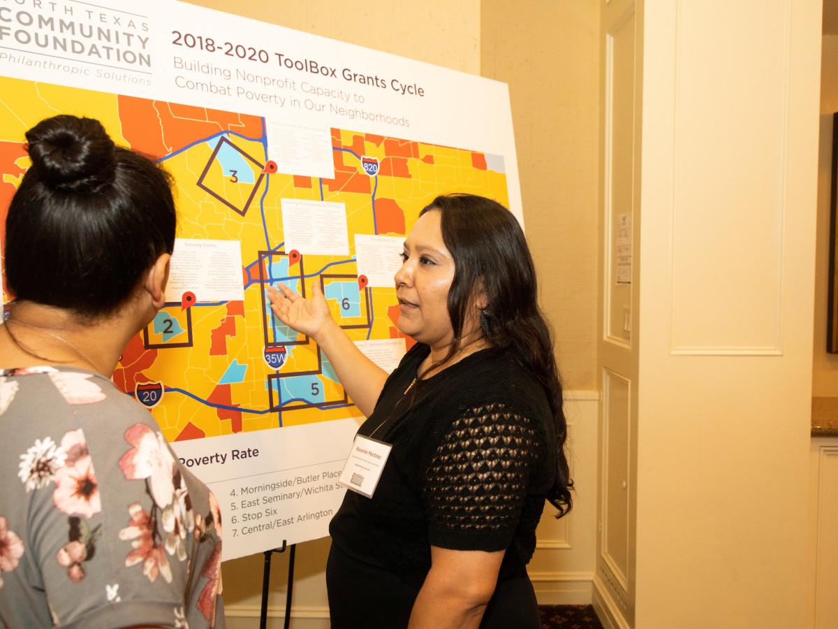 North Texas Community Foundation, Rachel Martinez, Roxanne Martinez