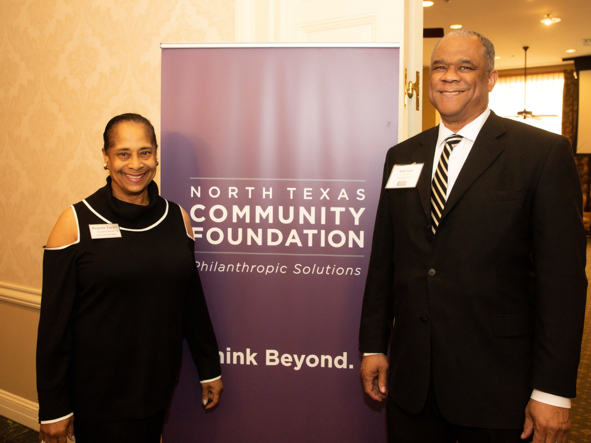 North Texas Community Foundation, Regena Taylor, Rudy Taylor