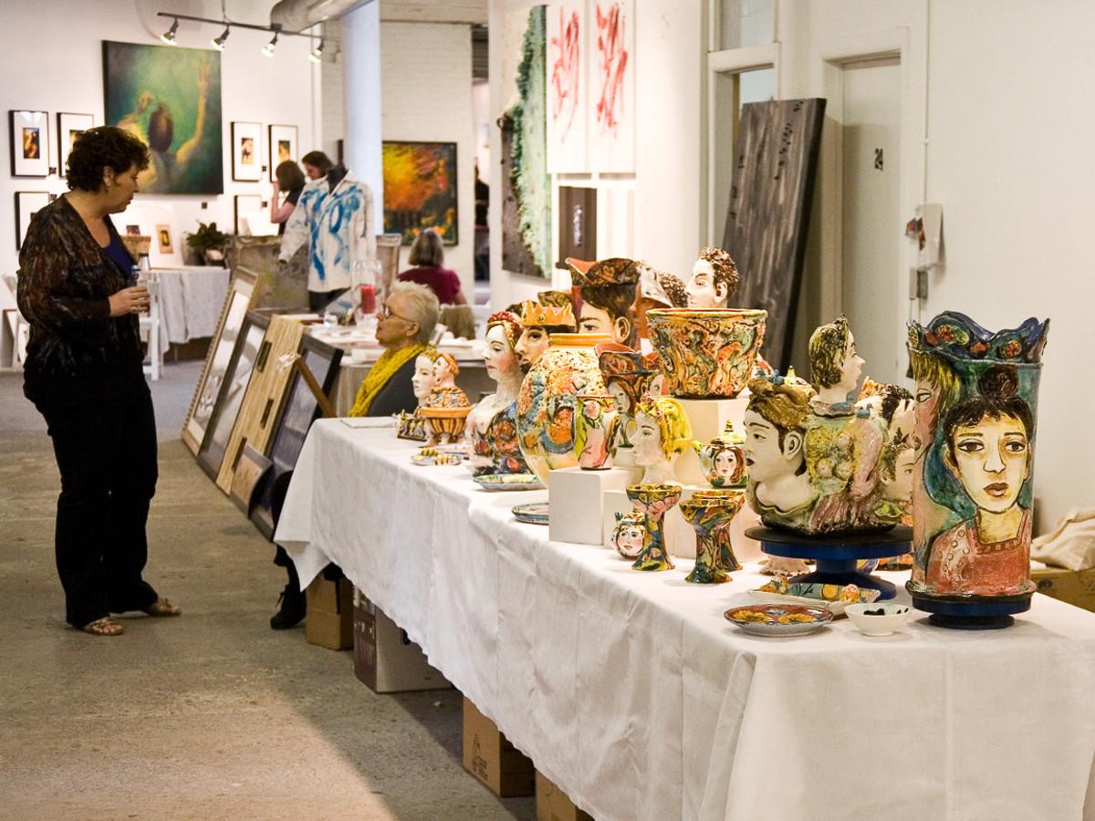 Events-WHAM vases2-Nov 09
