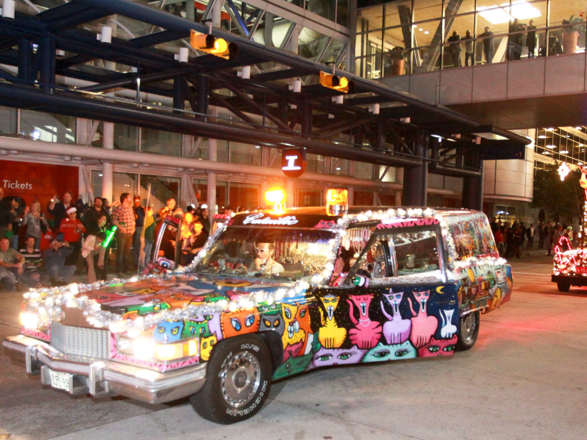 News_Gloworama 2009_painted car