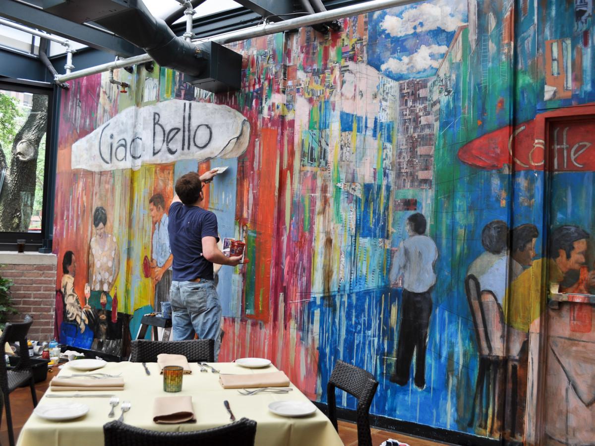News_John Palmer_Ciao Bello_painting