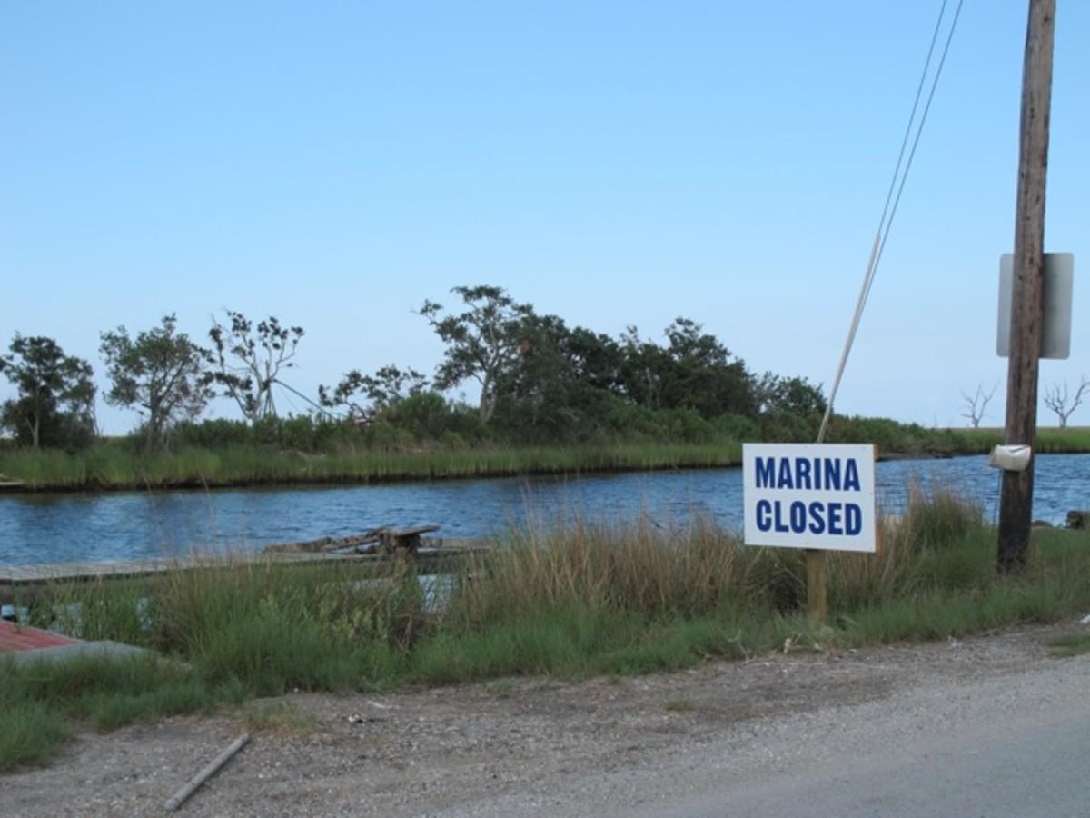 Marina closed