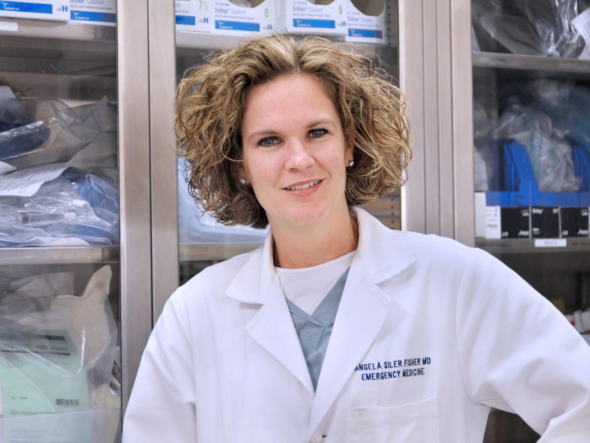 News_Clifford_Dr. Angela Siler Fisher_emergency medicine