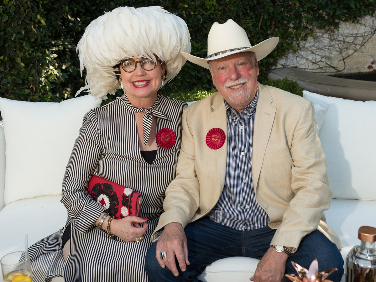 Day at the Races 2018, Margaret and Tom Chambers