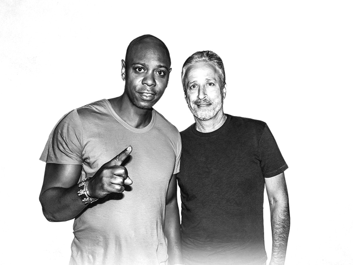 Dave Chapelle Jon Stewart tour Houston