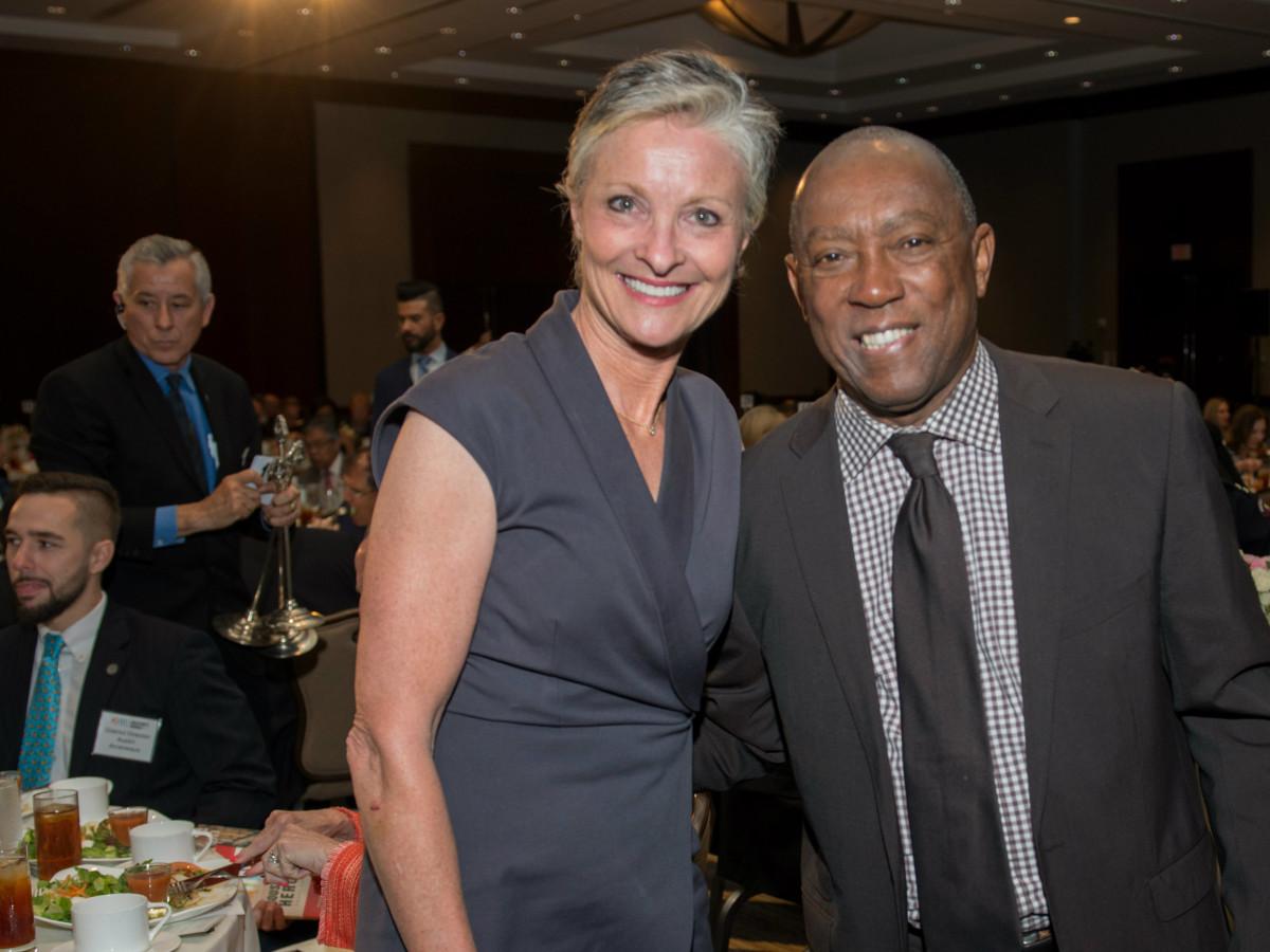 Crime Stoppers Dana Tyson Mayor Turner