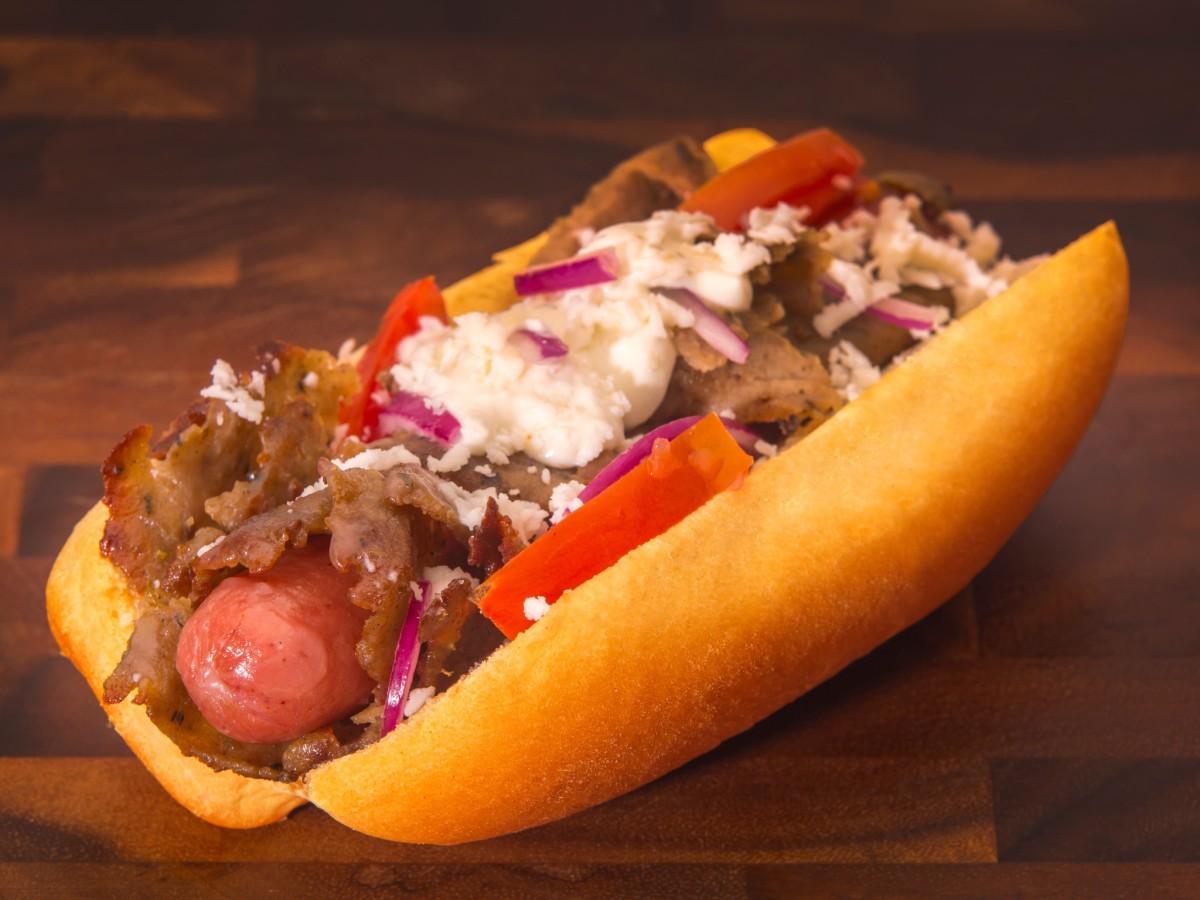 James Coney Island gyro dog