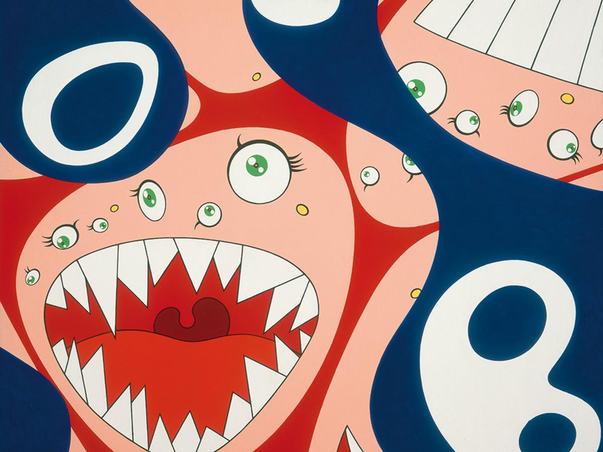"""""""Klein's Pot A"""" by Takashi Murakami"""
