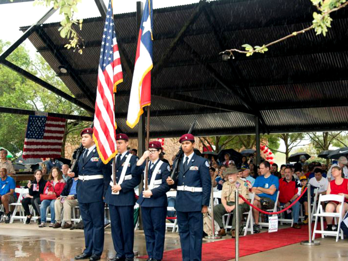 Memorial Day events Sugar Land flag ceremony
