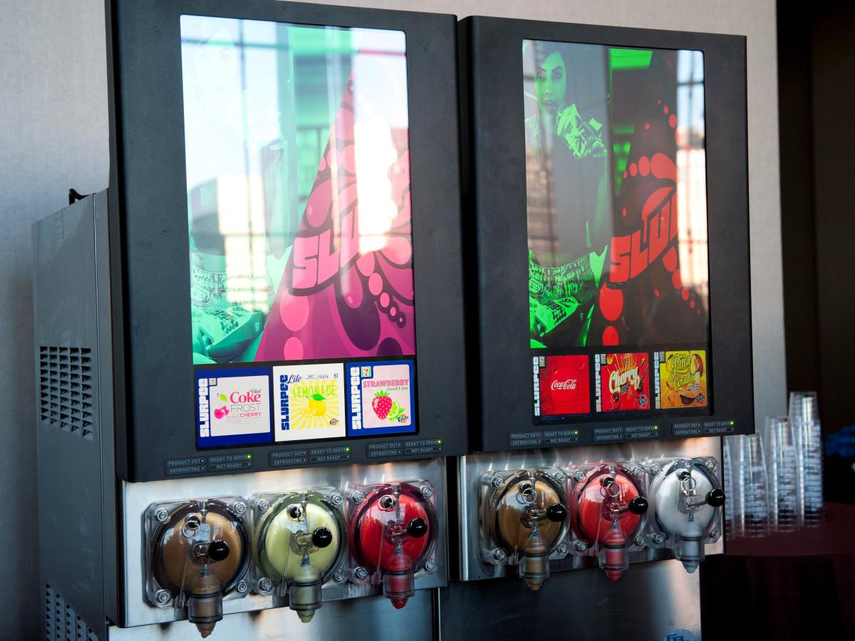 7-11 Slurpee machines