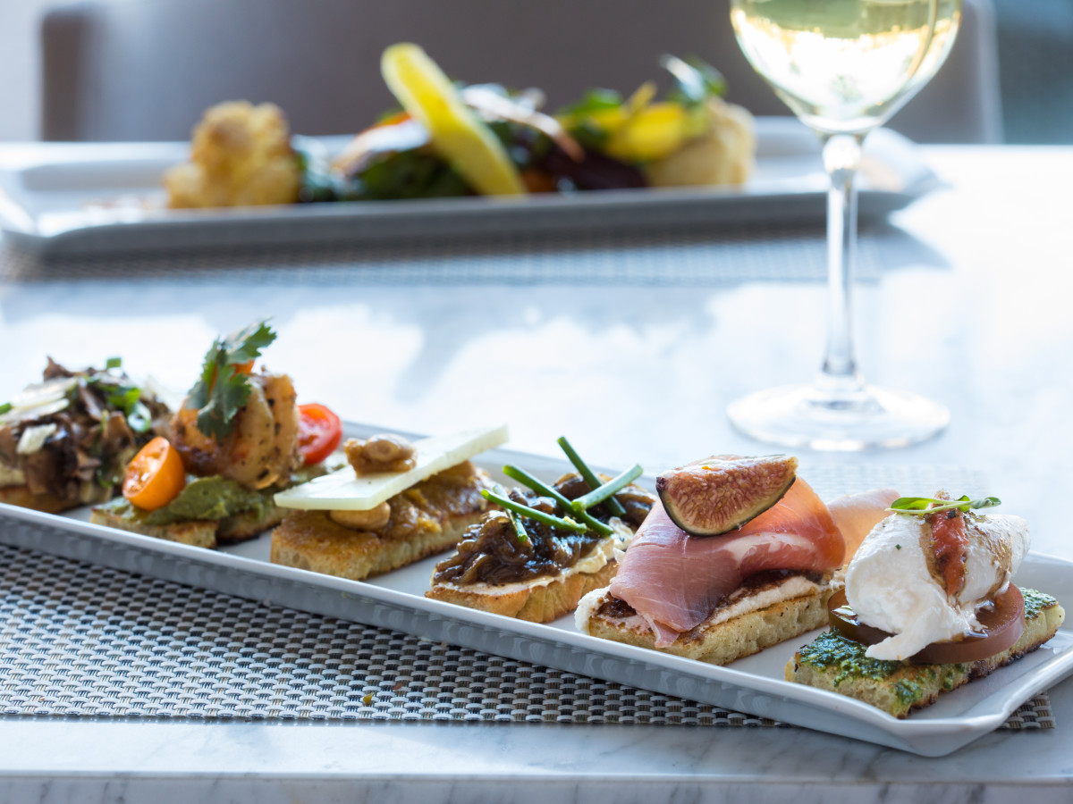 Fig & Olive signature crostini