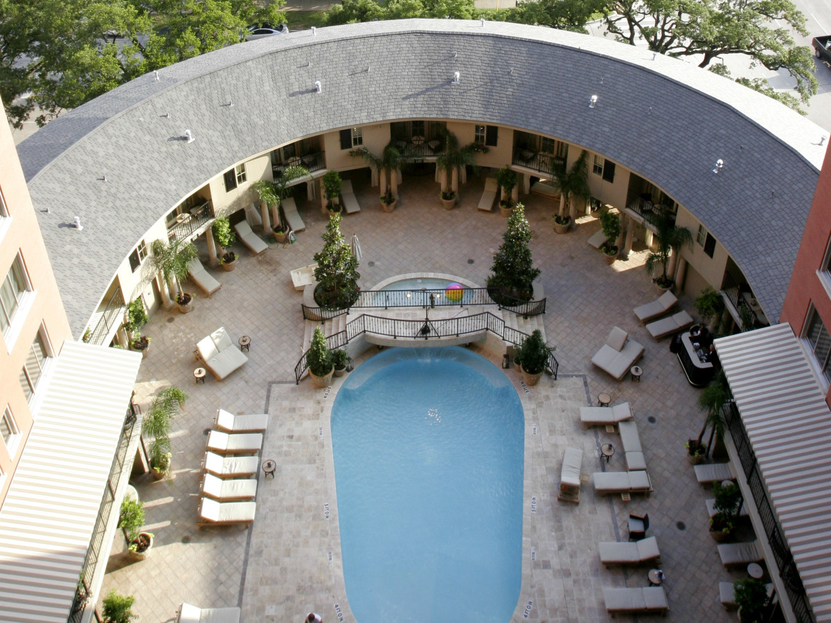 Houston hotel pools Hotel ZaZa