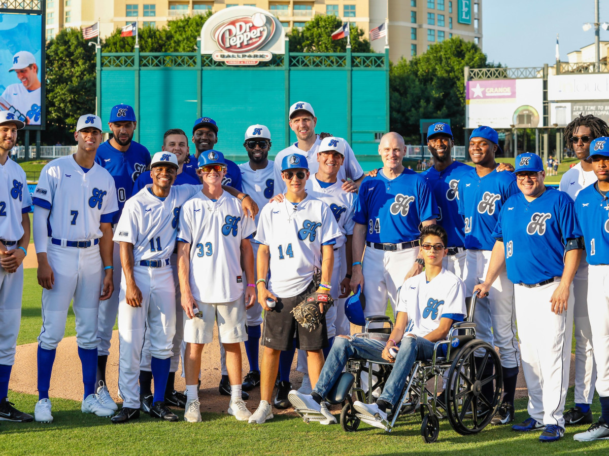 Dirk Nowitzki Celebrity Heroes Baseball Game 2018