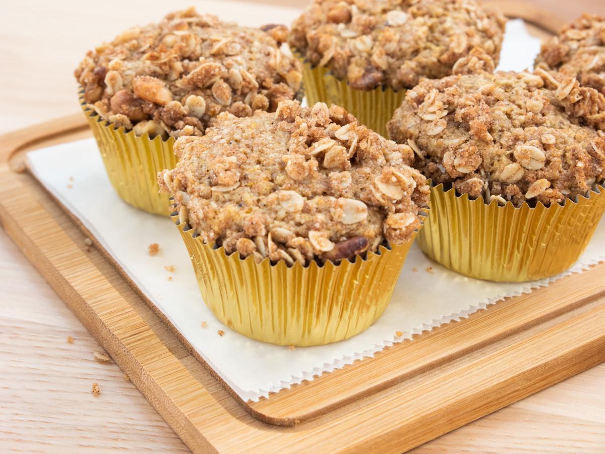 Austin Cookbook Cafe muffin