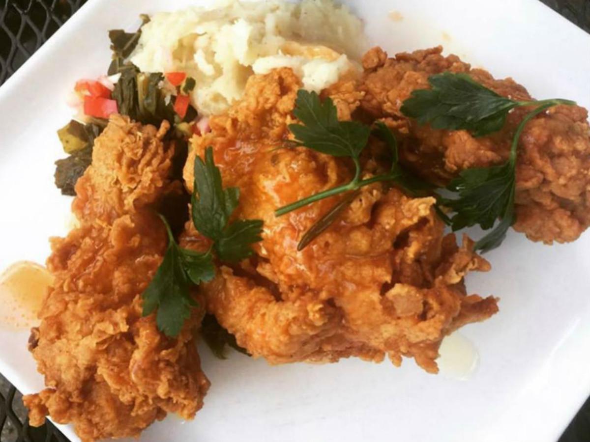 Lucille's chicken