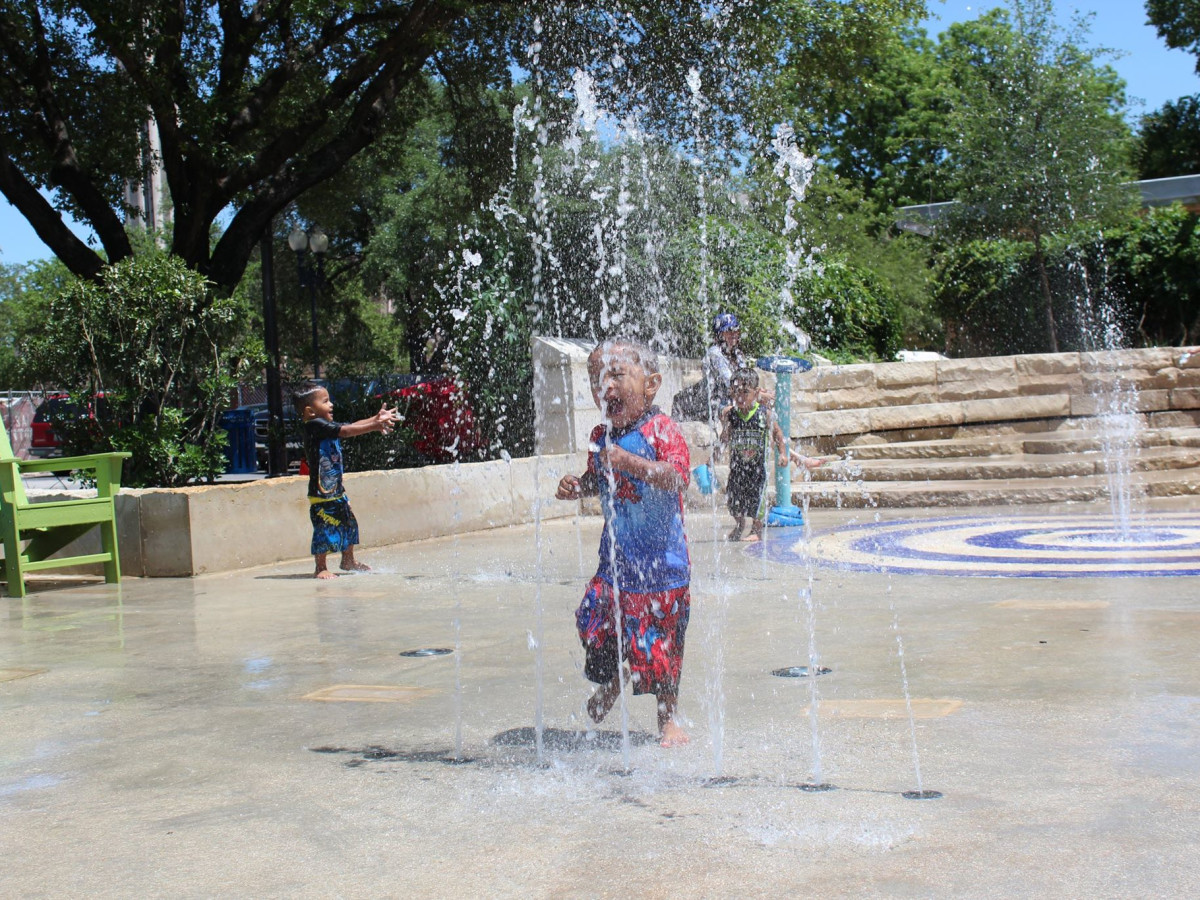 Hemisfair Splash Pad