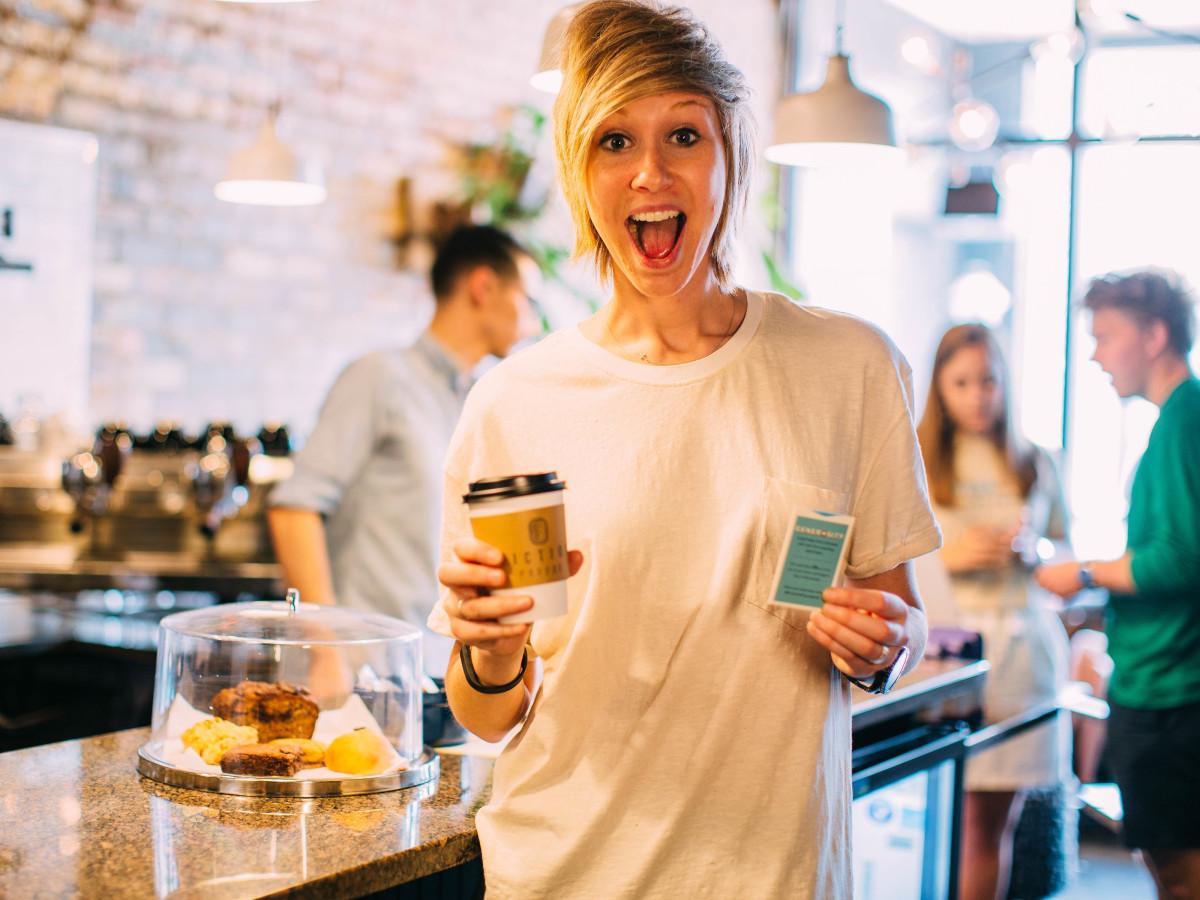 Cassie Brown, CM fiction coffee pop-up