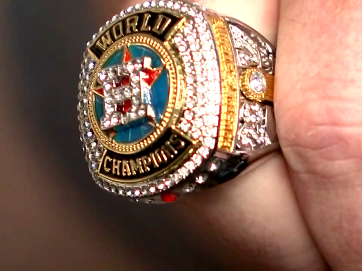 Houston Astros replica ring