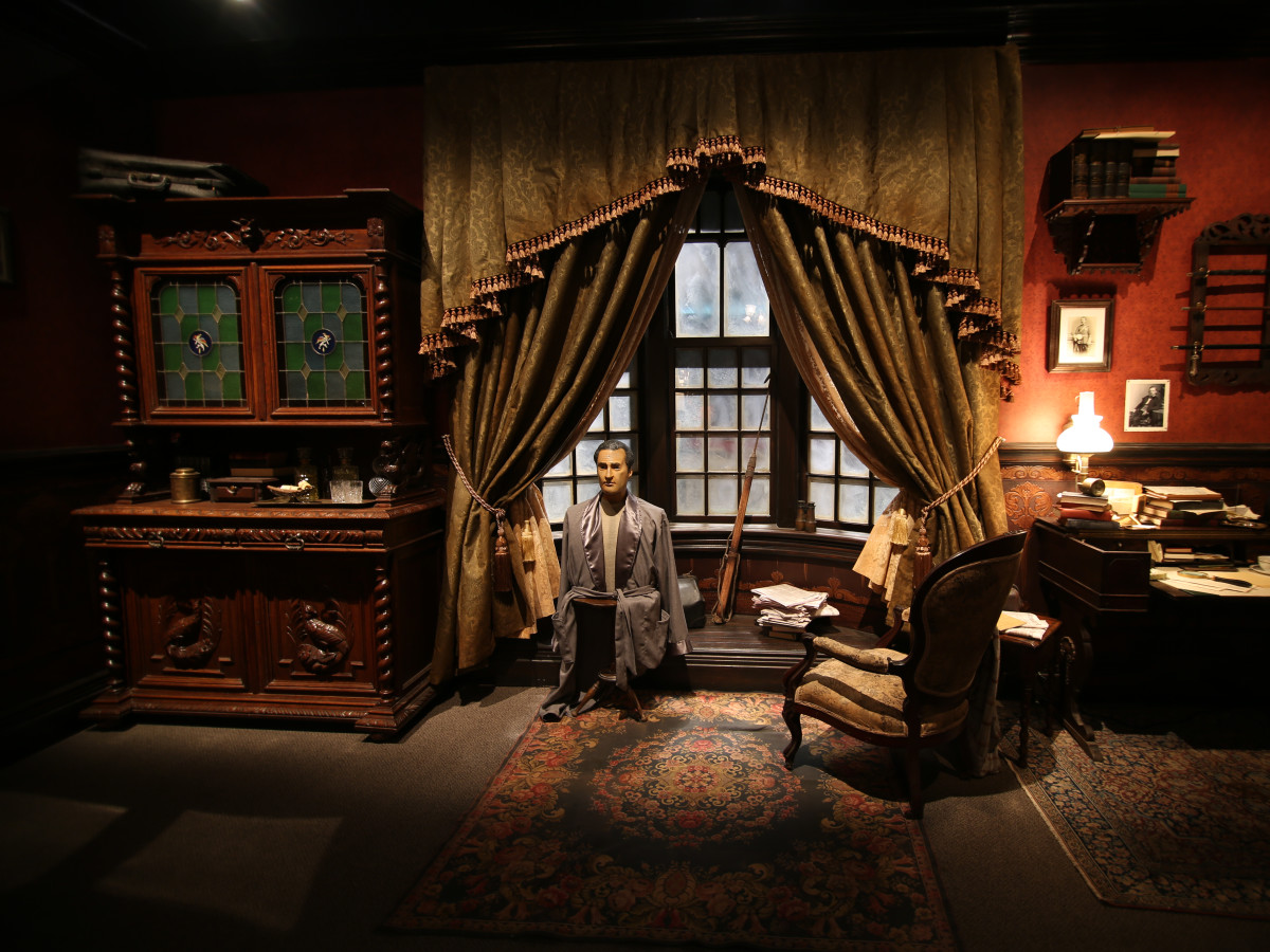 HMNS: International Exhibition of Sherlock Holmes